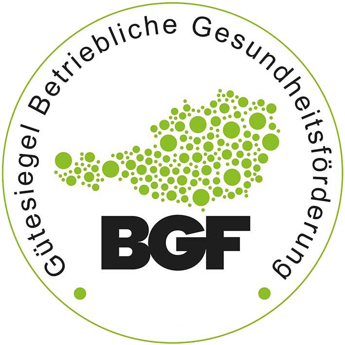 Gütesiegel Betriebliche Gesundheitsförderung Logo