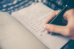 Checkliste Steuertipps 2020